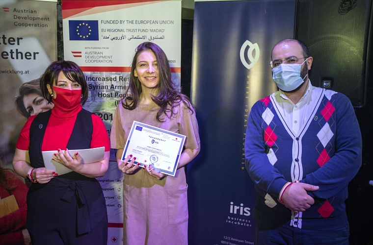 Certificate Award Ceremony of the 1st Incubation Cycle